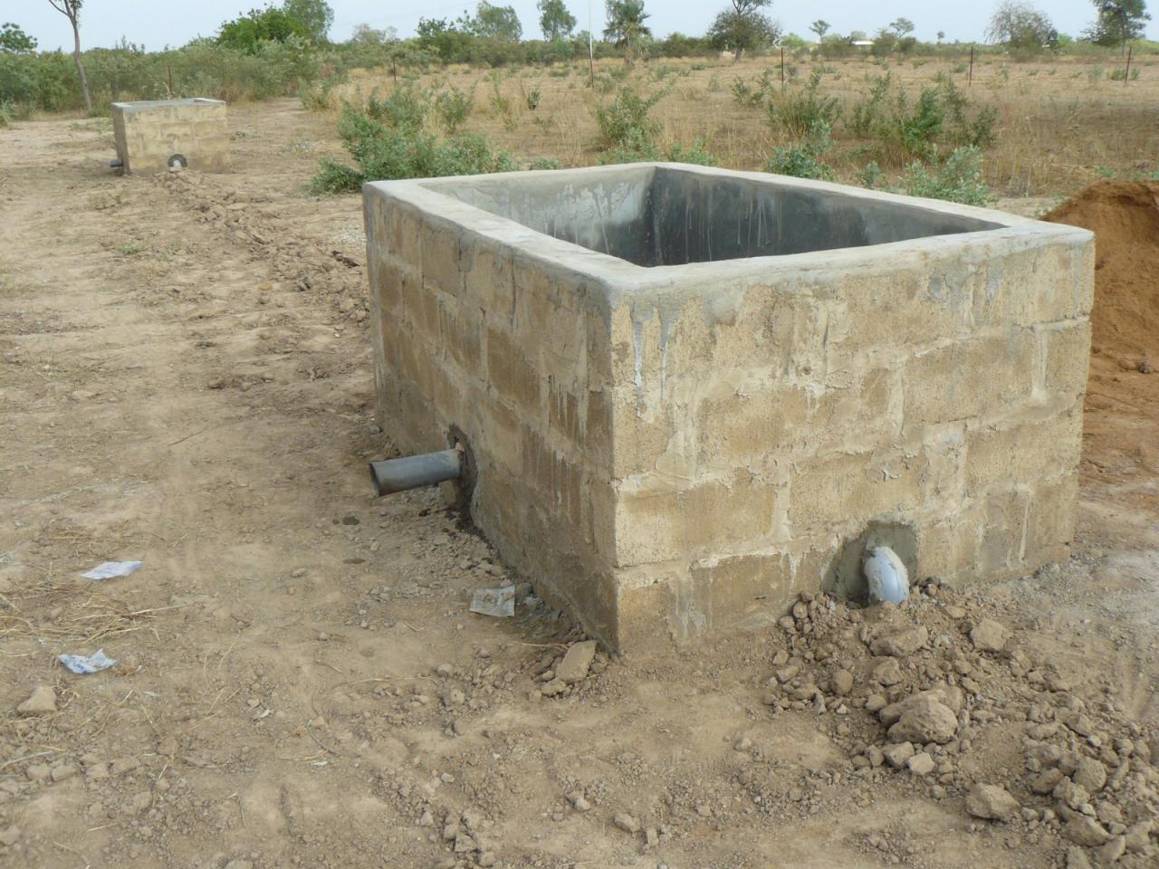 les cuves à eau