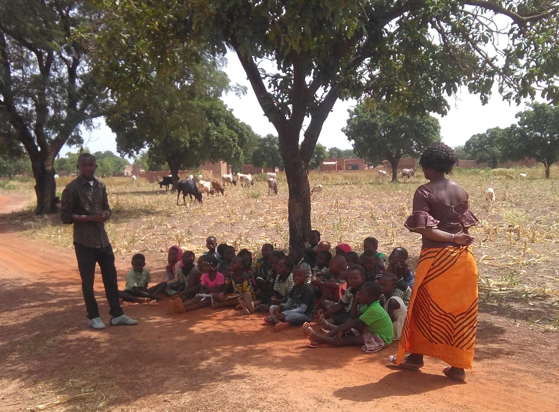 prise en charge des enfants à Dédougou